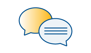 Share - Speech bubble